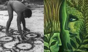 Ayahuasca Art: The Nature of Marriage and the Marriage of Nature